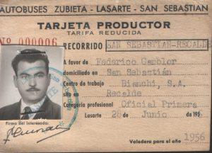 Oficial de Primera Recalde Bianchi S.A.
